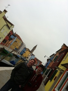 Boys in Burano