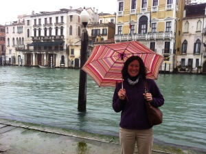 Laura at grand canal