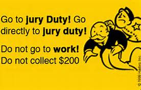 Jury duty is not actually as bad as all that.