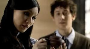 Gemma Chan and Al Weaver in BBC's Sherlock