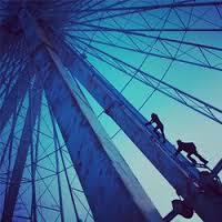 Tris Climbing the Ferris Wheel